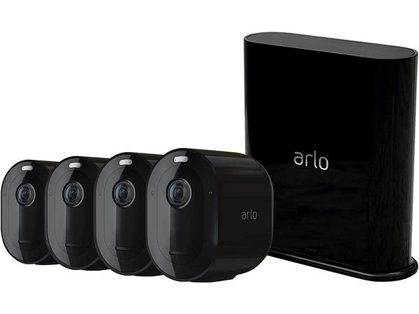 Arlo pro 3 4 cameras 2k wireless with nest hub £449.98 @ BT Shop