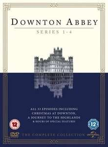 Downton Abbey: Series 1-4 (used) £3.77 delivered with code @ Music Magpie