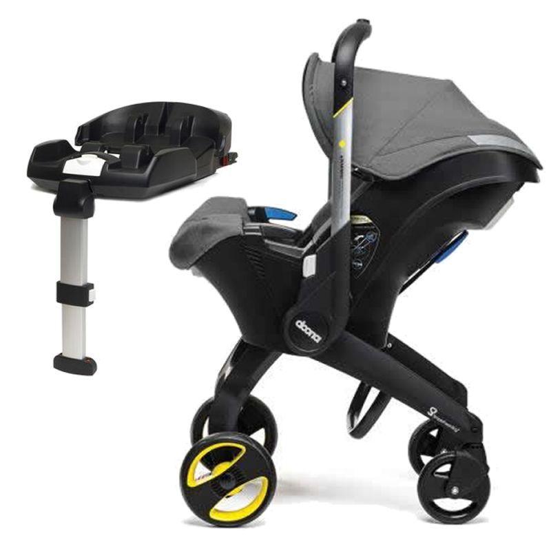 Doona Infant Car Seat Stroller With ISOFIX Base-Storm Grey + Snap-on Storage £259 @ Kiddies Kingdom