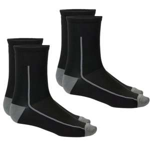Boardman Mens Socks - Grey (2 Pairs) S/M + Free £5 e-voucher (new accounts) - £4 (Free click & collect) @ Halfords