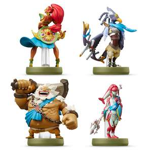 The Champions amiibo Set (The Legend of Zelda: Breath of the Wild Collection) £49.99 delivered from Nintendo Store