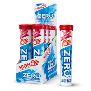 HIGH5 Zero Electrolyte Hydration Tablets Berry, 8 x 20 £20.97 at Amazon