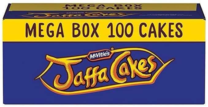McVities Original Jaffa Cakes 100 Mega Box is £2 @ B&M Liverpool