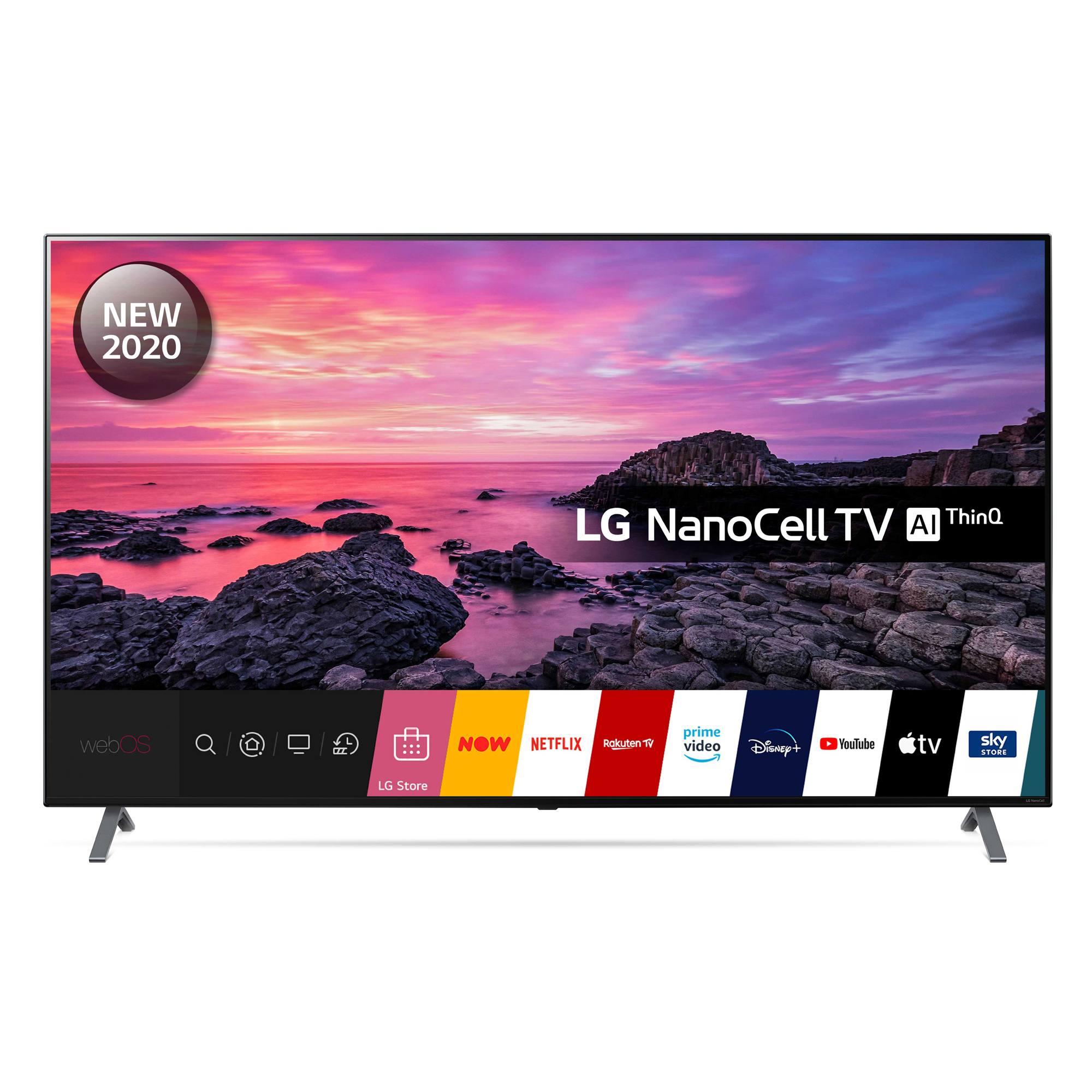 LG 75NANO906NA (2020) LED HDR NanoCell 4K Ultra HD Smart TV, 75 inch with Freeview HD/Freesat HD Dolby Atmos £1,199 at Hughes