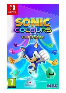 Sonic Colours: Ultimate (Switch) £29.95 @ BASE Pre-Order (released 7th Sep)