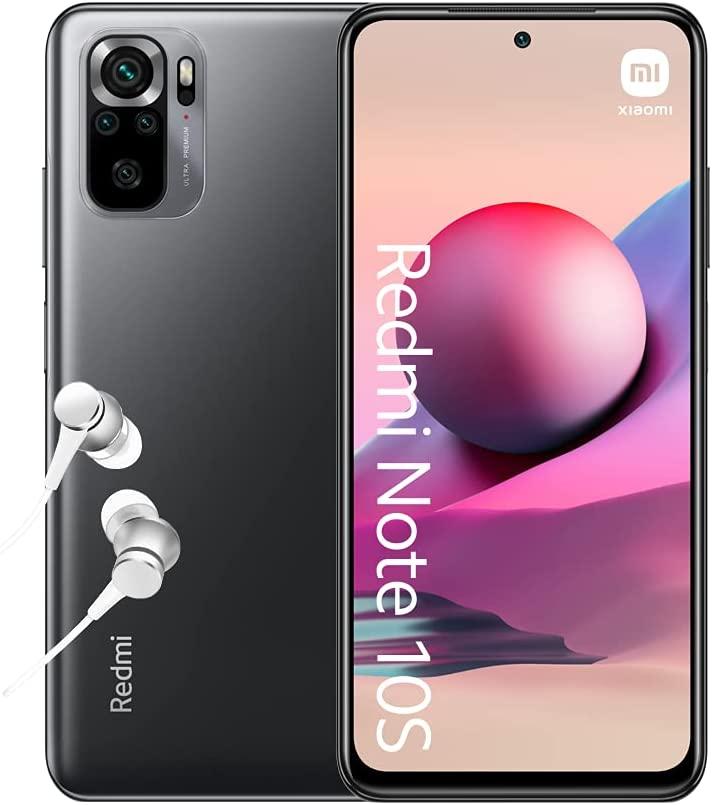 "Xiaomi Redmi Note 10S - Smartphone 6GB+64GB, 6.43"" AMOLED DotDisplay, 64MP Quad Camera, 5000mAh (Onyx Gray, Blue, White) - £149 @ Amazon"