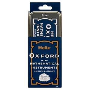 Helix Oxford Maths Set - including limited edition versions £2 Tesco with Clubcard
