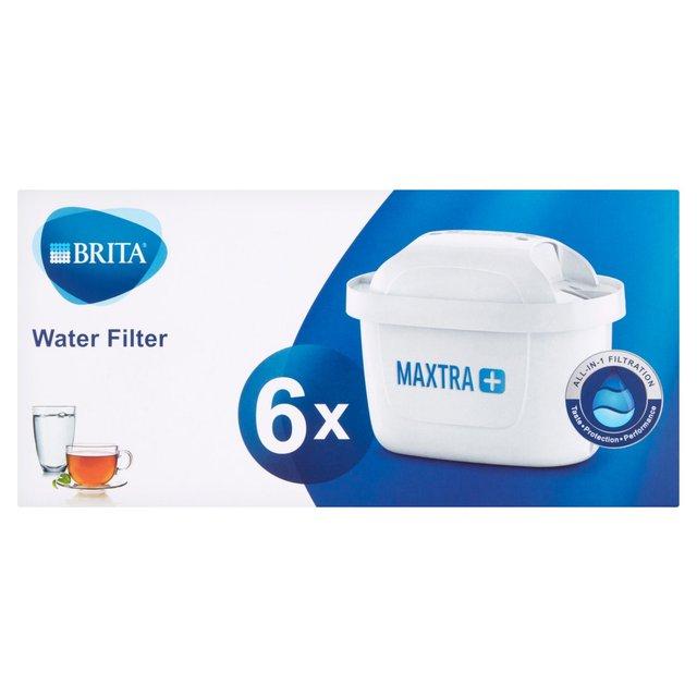 6 x BRITA Maxtra+ Plus Water Filter Jug Cartridges, £20 at Morrisons