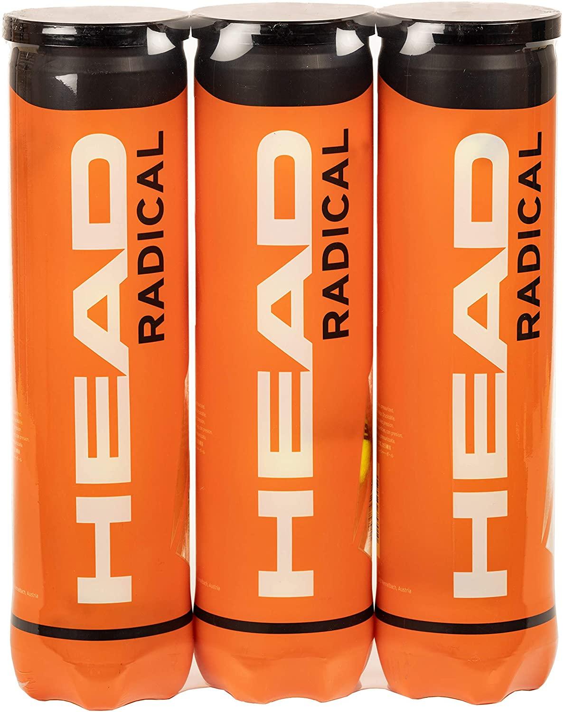 HEAD Radical Tennis Balls, Triple Pack (12 Balls) - £10.99 Prime / +£4.49 non Prime @ Amazon