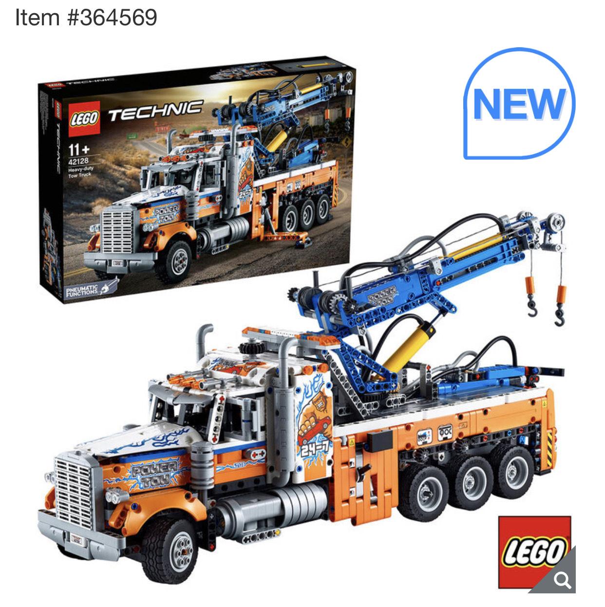 LEGO Technic Heavy Duty Tow Truck (42128) £120.99 @ Costco