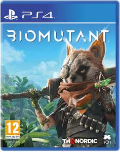 Biomutant PS4 - £27.97 with code delivered @ Currys PC World