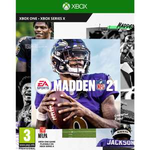Madden NFL 21 (Xbox One) for £4.97 delivered @ Currys PC World