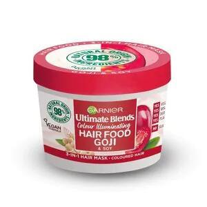 Garnier Ultimate Blends Hair Food Goji 3-In-1 Mask 390ml - 70p + free collection @ Superdrug