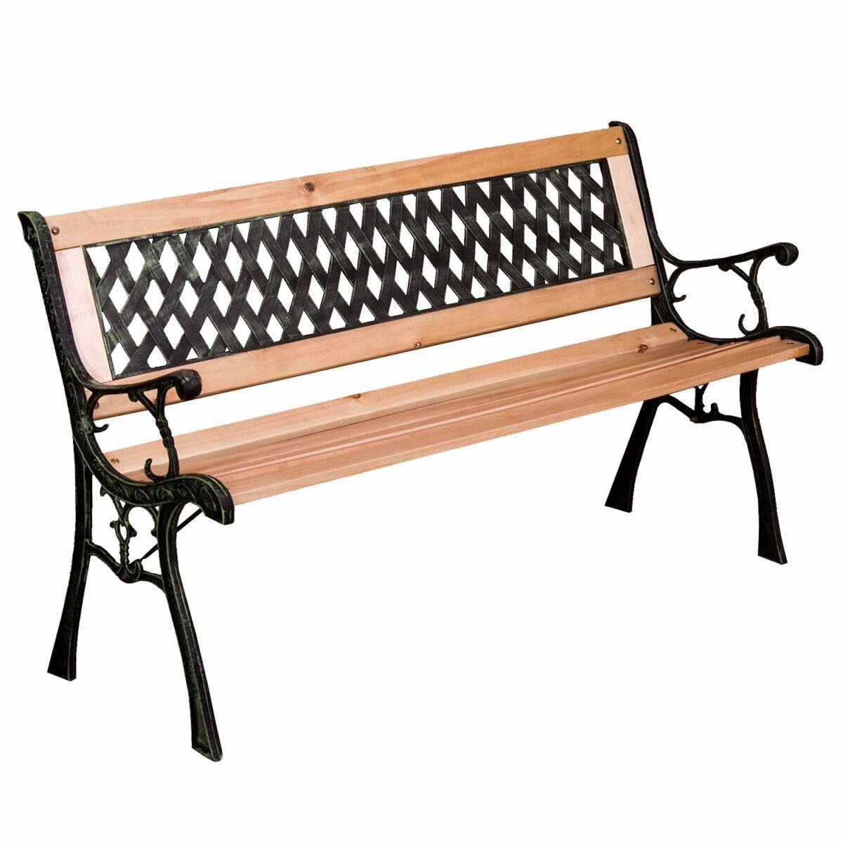 Metal 2 or 3 Seater Garden Bench – Blenheim - £30 delivered @ Weeklydeals4less