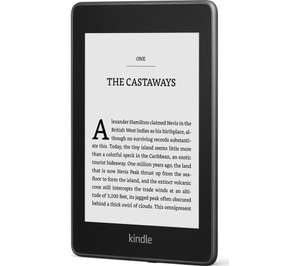 """Amazon Kindle Paperwhite (black) 6"""" eReader - 8 GB - (with ads) £74.99 with code @ Currys PC World"""