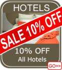 Extra 10% Off Hotel Bookings with Flybe !!