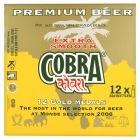 Cobra Premium Beer 12x330ml £8.07 Sainsburys online and instore.