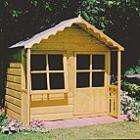 Kitty chalet style Playhouse - (H) 1.55m x (W) 1.49m x (D) 1.5m Now £197.96 delivered @ B&Q (was £249)
