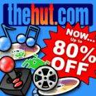 The Hut Sale Upto 80% discount on DVD's CD's & Games