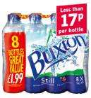 8 x 500ml Buxton Still Natural Mineral Water £1.29 @ Lidl