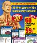 60 Giant 3D fact sheets of the Human Body - 99p post paid @ Atlas Editions