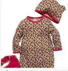 Blue Zoo Baby  3 pce leopard printed sleepsuit set - Debenhams - £7.20 delivered + Quidco - 20% off Sale Ends Sunday