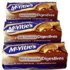 Mcvities chocolate biscuits, half price 62p for a decent pack 400grams @ Tesco online and instore