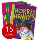 The Complete Horrid Henry Collection  (15 Books) £12.99 delivered + 6% quidco @ The Book People