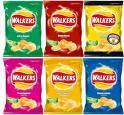 Walkers Crisps 32 pack (box) £3 @ ASDA