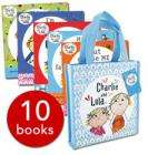 Charlie and lola collection 10 books in canvas a  bag @ the book people £10