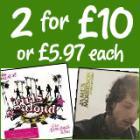 Music Offer 2 CD's for £10 @ Asda