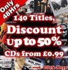 BIG BangCD Sale Starts Tomorrow 8th November for 48 Hours Prices from 99p Delivered!