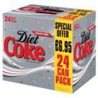 24 x 330ml Cans of Coke £5.00