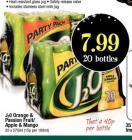 J20 Orange &Passion Fruit/Apple & Mango £7.99 20 bottles @Netto