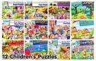 12 Assorted Children's Puzzles Bumper Pack - rrp £47.99 Now £12.99 (+ p&p) @ The Toyshop