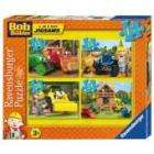 Bob The Builder: 4 In A Boz Jigsaw Puzzles was £5.99 - now £3.99 @ Play.com