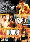 Step Up/Step Up 2 - The Streets/Honey [Steelbook] DVD - £4.95 OR £3.95 With A Voucher @ The Hut