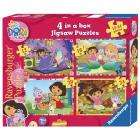 Ravensburger Dora the Explorer 4 Puzzles in a box £3.99 at Amazon