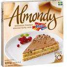 Almondy Snickers or Daim Tarta (half price) £1.49 @ Morrisons