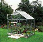 Aluminium Greenhouse 6ft x 4ft with Horticultural Glass £149.99 @ Focus DIY