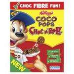 New Kellogg's Coco Pops Choc n Roll only £1 at Tesco