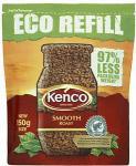 Kenco Smooth or Rich Eco Refill (150g) £2.38 & Decaf £2.66 @ Sainsburys