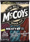 McCoys Crisps - All 6 Packs BOGOF @ £1.58 in Tesco - 13p Each