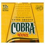 Cobra Indian Beer 12 X 330ml - online and instore @ Tesco - £7.00