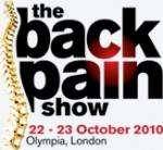 Free tickets to the back pain show @ Olympia 22nd-23rd of October 2010 (London)