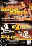 HERE YOU GO BOYS.... and GIRLS!!! ♥♥ Spearmint Rhino Beach Party Friday 27th August 2 4 1 dances from £10 drinks from £2 have a sneaky peek at flyer!! ♥♥