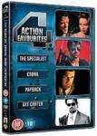 The Specialist / Cobra / Payback / Get Carter DVD set @ Base £5.91