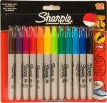 12 pack of assorted colour Sharpies £5.51 using 10% off code @ WH SMITH