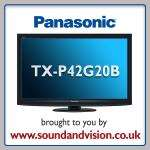 Panasonic TX-P42G20 for £899.99 inc. Blu-ray player + 5 year warranty (House of Fraser)
