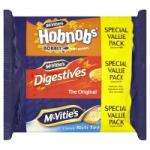 Tripple pack McVities Hobnobs, Digestives and Rich Tea biscuits 750g £1.50 @ Netto
